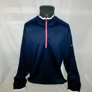 Nike Golf Tour Performance Mens XL Blue Pullover